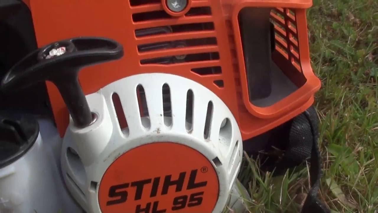 Taille de lauriers avec un stihl hl95 youtube for Taille haie 4 en 1 stihl