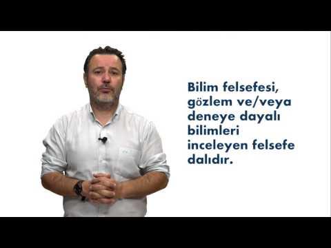 BİLİM FELSEFESİ -Ünite1 Özet