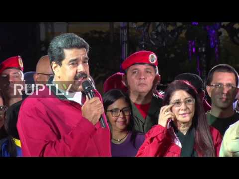 Venezuela: Maduro hails 'biggest vote Bolivarian revolution has ever had'
