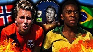PELE FOTBALL TRIKS CHALLENGE!! 💥 TIDENES VANSKELIGSTE FINTER?!