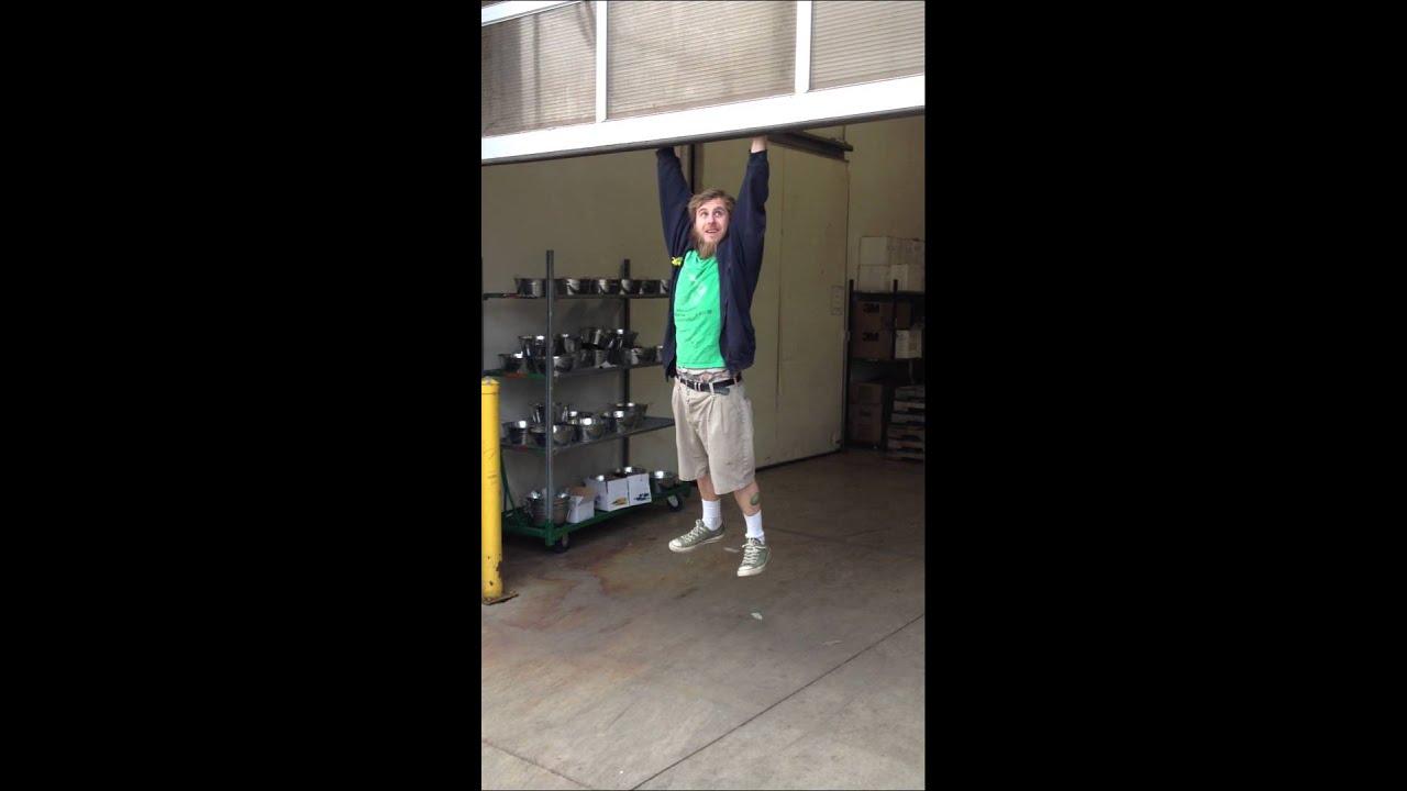 Door Install Fail : Garage door fail broken arm youtube