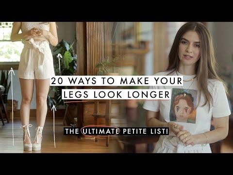 20 Ways To MAKE LEGS LOOK LONGER *Ultimate List*