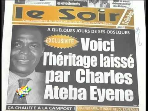 LA REVUE DE PRESSE du 24 Mar 2014   Pierre ESSONO, Christian NDOBO