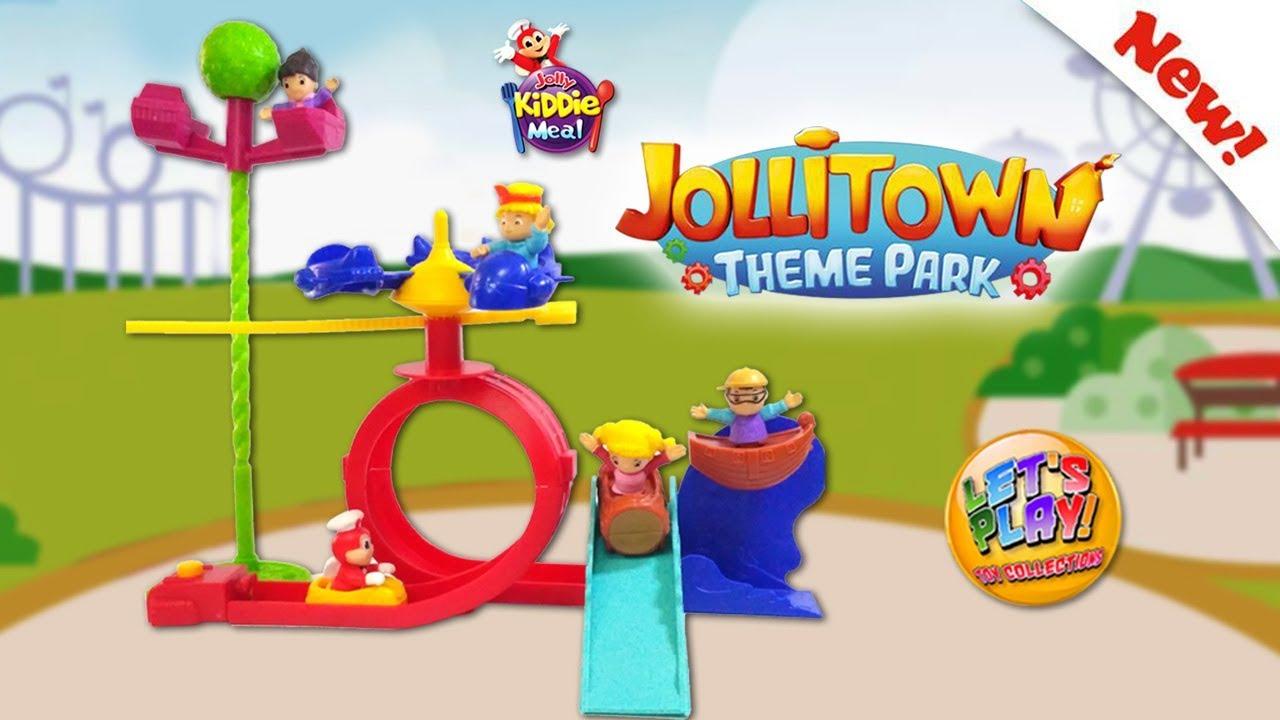 2019 Jollitown Theme Park Jolly Kiddie Meal Toys