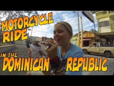 SE3 EP58 Motorcycle ride in the Dominican Republic - Trio Travels Sailing the World