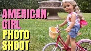 American Girl Doll Photo Shoot
