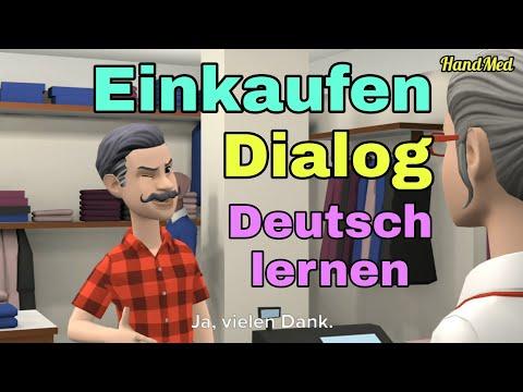 Dialog - Einkaufen
