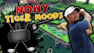 ADAMEK NOWY TIGER WOODS! - CLOUDLANDS VR MINIGOLF #2 /w AdameK