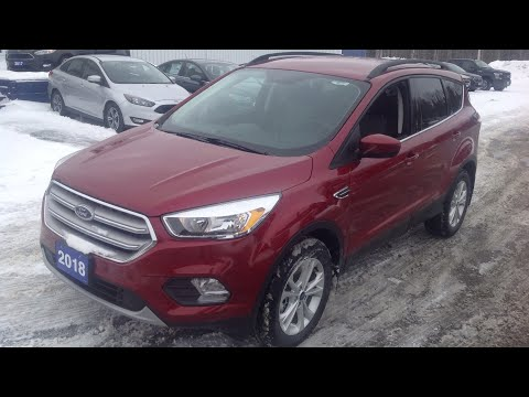 2018 Ford Escape SE 4WD: Start Up, Exterior, Interior & Full Review