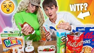 Wir probieren eure Essenskombinationen | mit Katja Krasavice