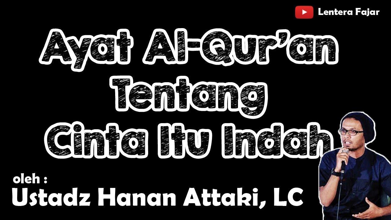 Ayat Al Qur'an Tentang Cinta Itu Indah