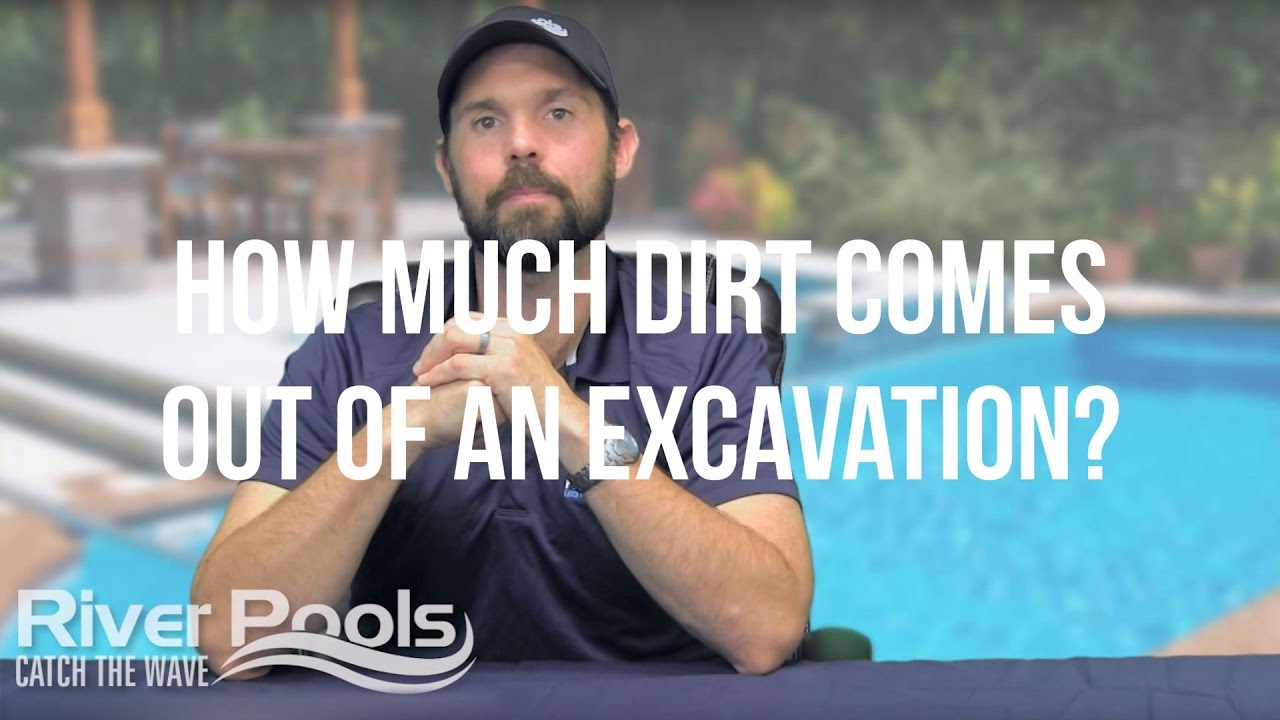 How Much Dirt Comes Out Of A Pool Excavation? (Jobsite Video)