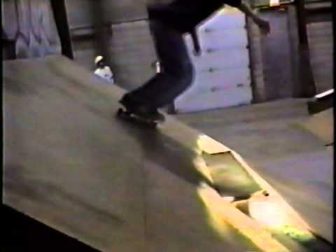 Tom Green checks out the Ramps at SK8 City