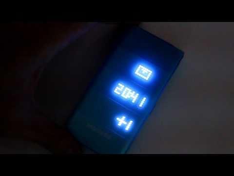 Samsung S5520 LED 外部閃燈.MOV