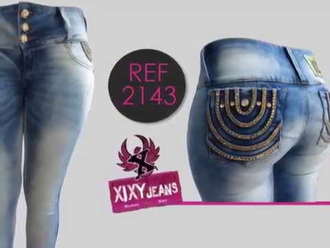 Jeans Colombianos Levanta Cola Coleccion Mujer 2014 Youtube
