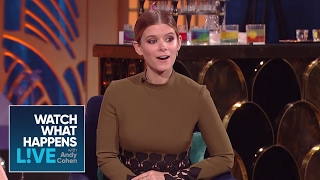 Kate Mara On When She And Jamie Bell Fell In Love | WWHL