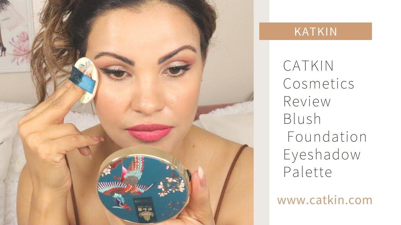 CATKIN Cosmetics Review   Blush, Foundation, Eyeshadow Palette