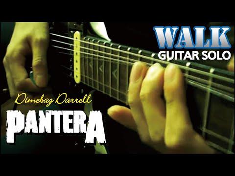 Pantera - Walk solo  : by Gaku