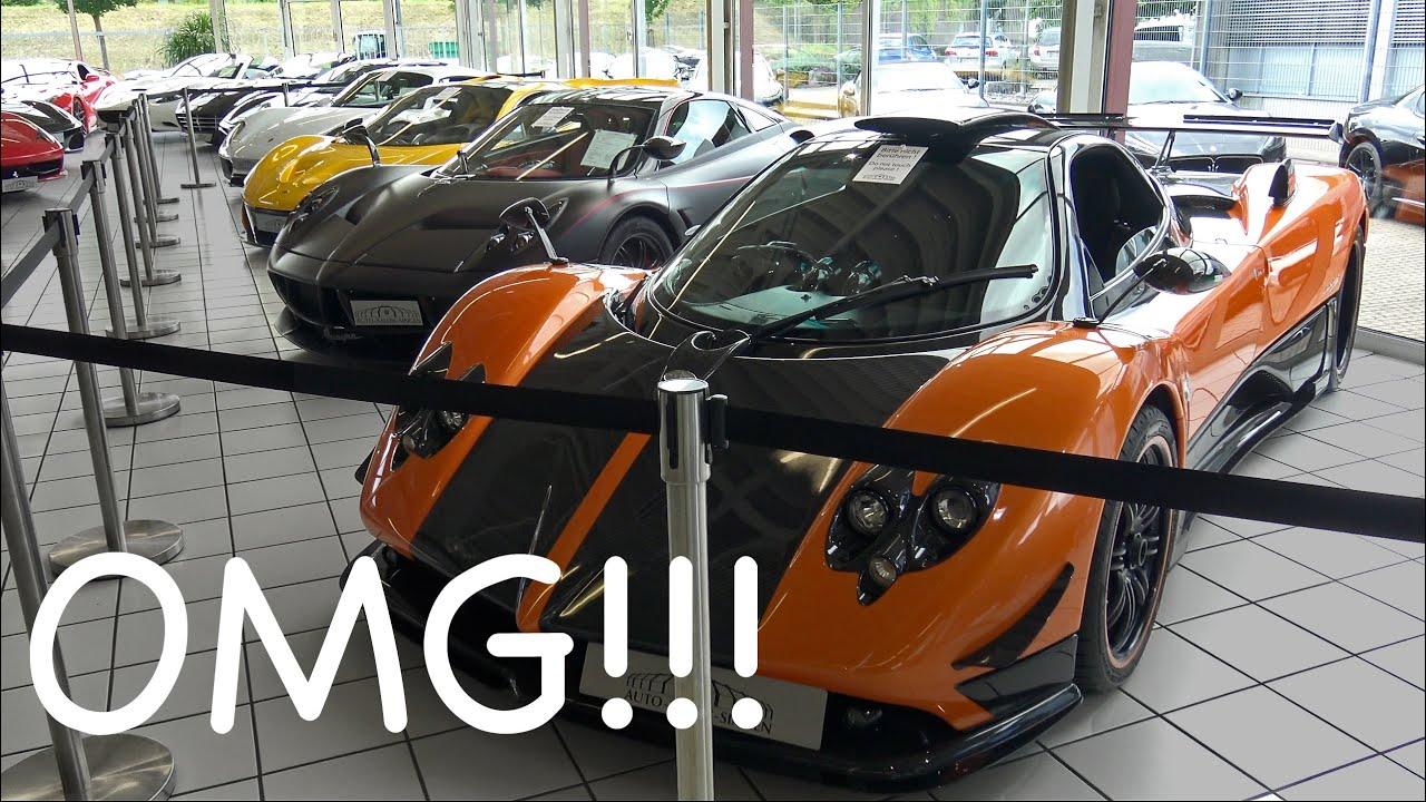 Auto Salon Singen Gmbh - Epic hypercar line up at auto salon singen