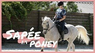 Sapée en poney #15 🎀 : Mathilde & Sligo !