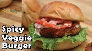 মাংস ও ডিম ছাড়া সম্পূর্ন সবজির বার্গার রেসিপি   New Veggie Burger Recipe   Spicy Vegetable Burger