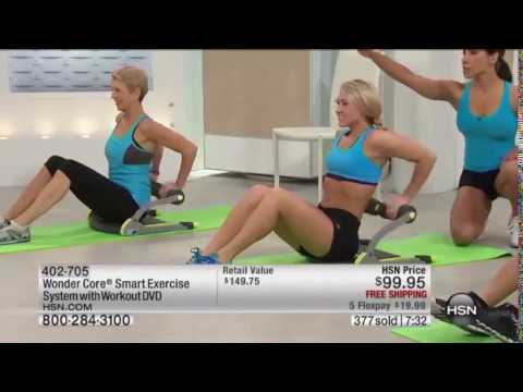 wonder core smart exercise system with workout dvd youtube. Black Bedroom Furniture Sets. Home Design Ideas