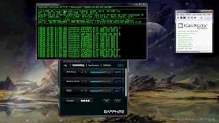 Litecoin mining (SHA-256d+scrypt) - Radeon HD 7850 1gb card @ 350Kh/s