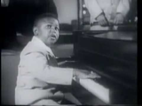 """Frank """"Sugar Chile Robinson"""" with Count Basie"""
