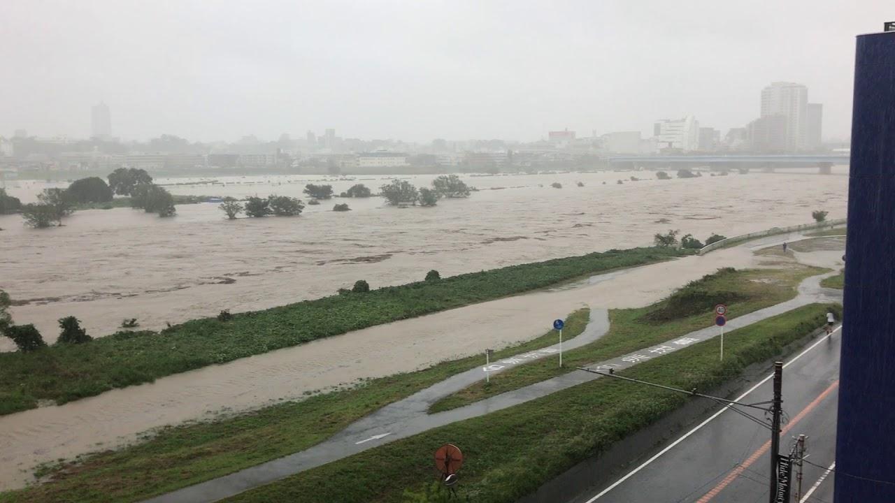 多摩川 氾濫 水位