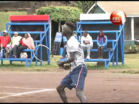 Kenya Open Tennis tournament championship at Nairobi Club