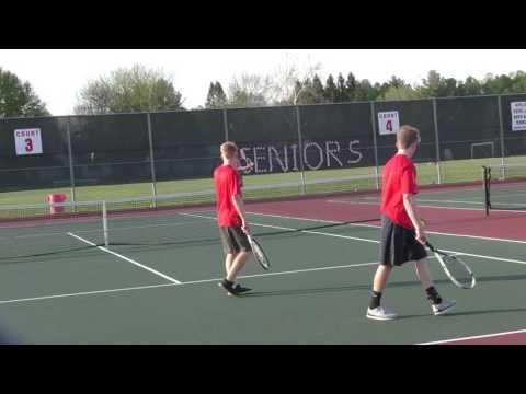 Boys Varsity Tennis Baldwinsville VS Cicero North Syracuse High 5/12/2016