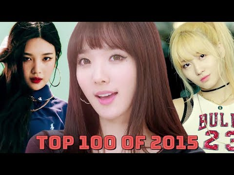 My Top 100 KPop Songs of 2015