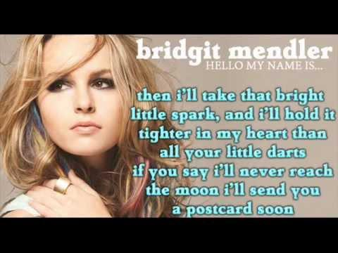 Bridgit Mendler - Postcard (Full song HD) LYRICS + DOWNLOAD