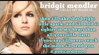 Bridgit Mendler - Postcard (Full song HD) LYRICS + DOWNLOAD