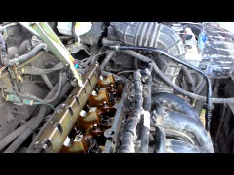 Фото к видео: Замена маслосъемных колпачков zetec rocam 1.6 8v