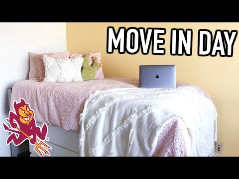 College Move In Vlog | Arizona State University