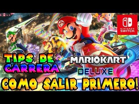 Secretos y Trucos Mario Kart 8 Deluxe #1 | Como ser primero en la salida