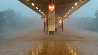Hagel Unwetter über Berlin Köpenick 2017