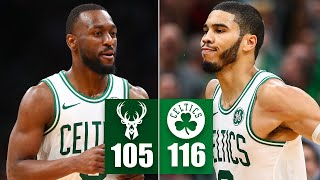 Kemba Walker, Jayson Tatum erupt in huge Celtics' 2nd-half vs. Bucks | 2019-20 NBA Highlights