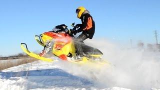 2015 Ski Doo MXZ XRS 800 Drift Destruction