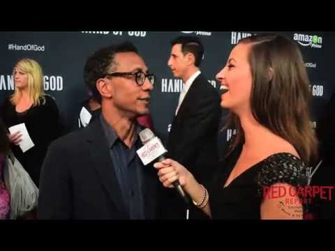 Andre Royo at the Premiere of Amazon's