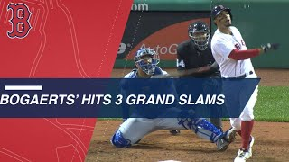 Bogaerts crushes 3 grand slams in 2018