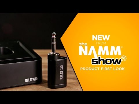 NAMM 2016 - Line 6 Relay G10 Digital Wireless Guitar System
