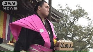 3日は節分です。千葉県の成田山新勝寺では、大相撲の人気力士や年男たち...