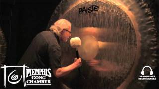 "Paiste 80"" Symphonic Gong - Played by Michael Bettine at Memphis Gong Chamber"