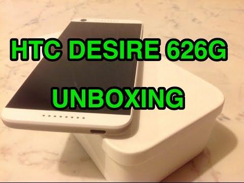 HTC Desire 626G - Unboxing ITA