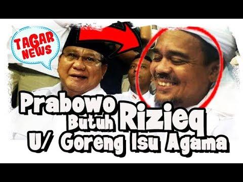 Bu (NUH) Dirii Politik Lagi! Prabowo Berjanji Pulangkan Rizieq Sebelum Pilpres