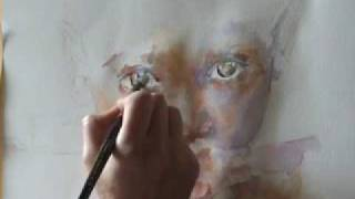 Watercolour Portrait by Stephie Butler ......Make A Wish