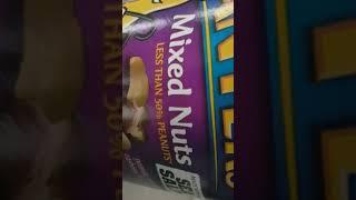 Less than 50 percent peanuts