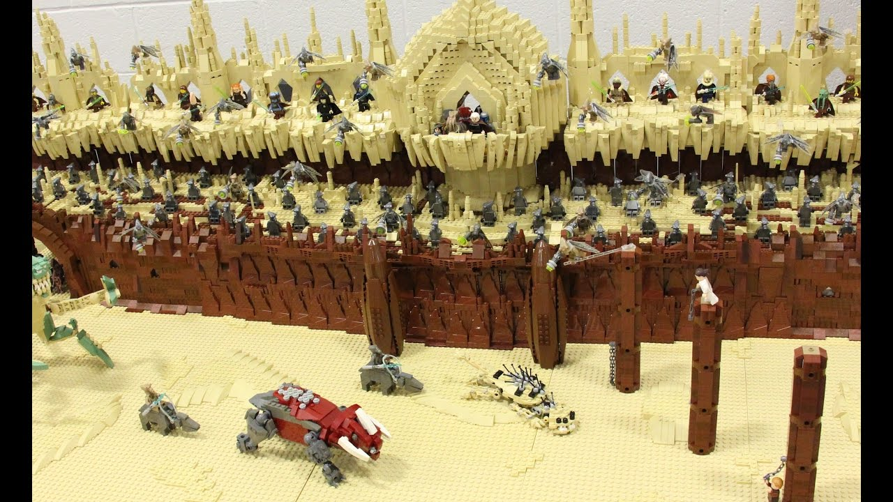Lego Star Wars Episode 2 Attack Of The Clones Geonsis Arena Jedi